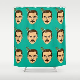 Freddy is the king Shower Curtain