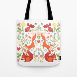 Early Fall Festive Flower Frolic Tote Bag