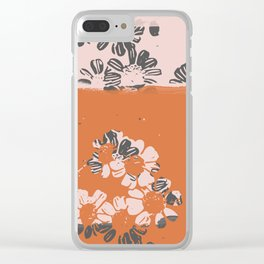 makenzie: ditsy florals Clear iPhone Case
