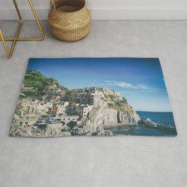 Manarola, Cinque Terre in Italy Rug
