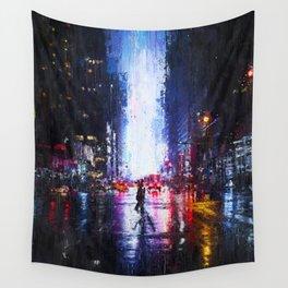 New York Panorama Wall Tapestry