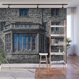 H. Clarke Mansion Evanston Illinois Bay Window Lakeside  Wall Mural