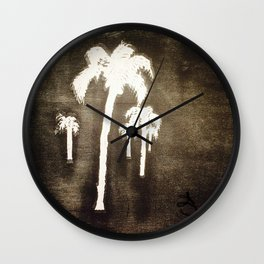Shaking Those Trees Wall Clock