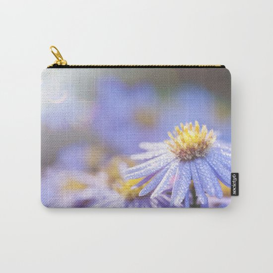 Blue Aster in LOVE I Carry-All Pouch