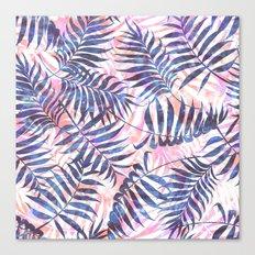 Reeya Tropical {periwinkle} Canvas Print
