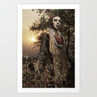 Karo Beauty Art Print