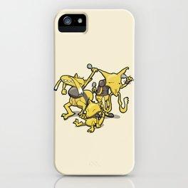 Pokémon - Number 63, 64 & 65 iPhone Case