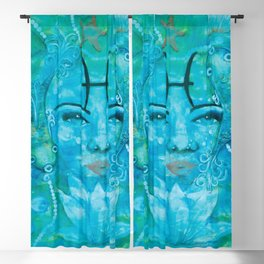 Pisces Underwater dream Blackout Curtain