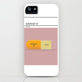 adderall xr 30mg art iPhone Case