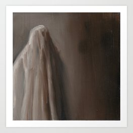 Ghost in the room Art Print