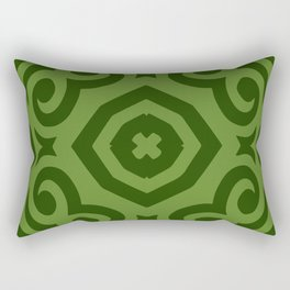 Super Green (Colored Callisto) Rectangular Pillow