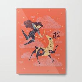 The Huntress Metal Print