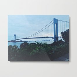 Verrazano Narrows x NYC  Metal Print