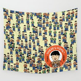 Where's Wong? Wall Tapestry