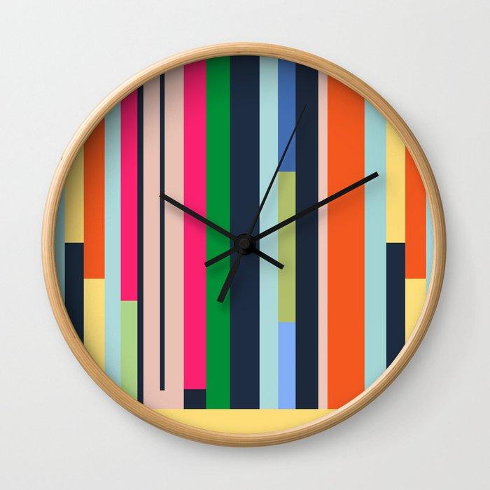 Poleyoga Wall Clock