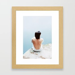 I know places (Leica M3 and Kodak Portra film) Framed Art Print