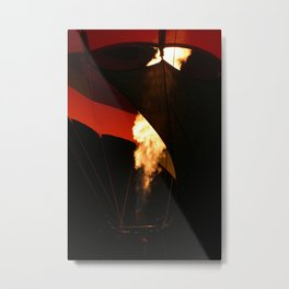 Hot Air Baloon Metal Print