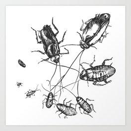 cucaracha #2 Art Print
