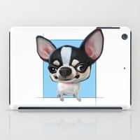 chihuahua iPad Cases featuring Chihuahua by joearc