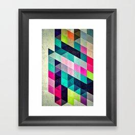 Cyrvynne xyx Framed Art Print