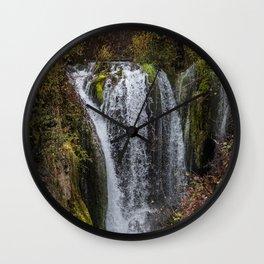 Upper Roughlock Falls Wall Clock