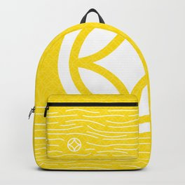 Motif Yellow Waves Backpack