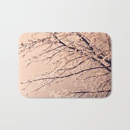 Winter dusk Bath Mat