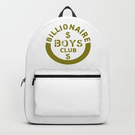 billionaire boys club #society6 #decor #buyart #artprint Backpack