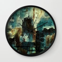 We Don't Care.  Forget It. Wall Clock