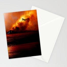 Devastation At Dawn 1941 ... By LadyShalene Stationery Cards