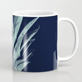 Navy Blue Pineapple Dream #1 #tropical #fruit #decor #art #society6 Coffee Mug