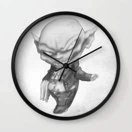 Vlad the Impatient Butler Wall Clock