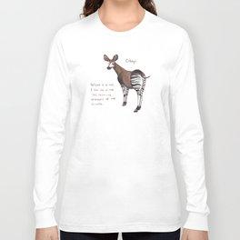 Okapi! Long Sleeve T-shirt