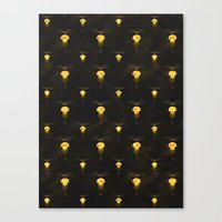 space dandy Canvas Prints featuring Dandy Jelly by Schwebewesen • Romina Lutz