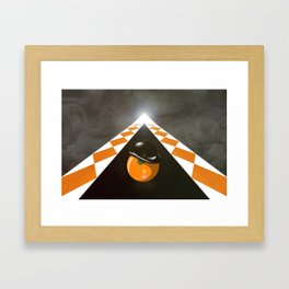Clockwork_Orng Framed Art Print