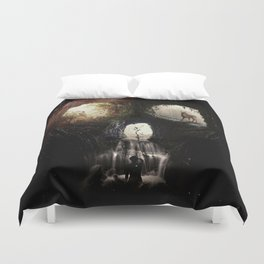 Cave Skull Duvet Cover