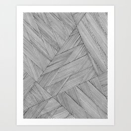 Anglinear Art Print