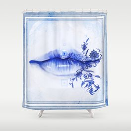 Porcelain Lolita Shower Curtain
