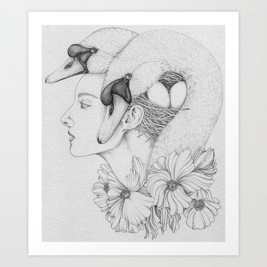 Re-birth Art Print