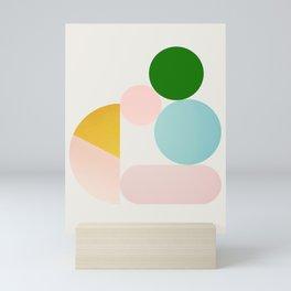 Abstraction_Minimal_Shapes_001 Mini Art Print