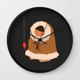 Eskimo1 Wall Clock