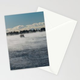"""""""Lobster Boat Spruce Head"""" Stationery Cards"""