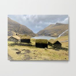 Faroe Islands Metal Print