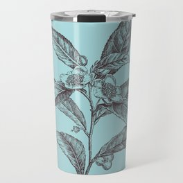 Flower Sketch #002 Travel Mug