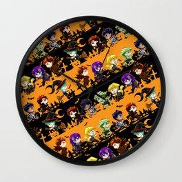 Kurobasu Halloween Wall Clock