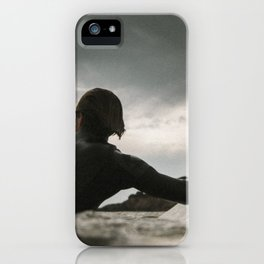 Surf grey photo iPhone Case