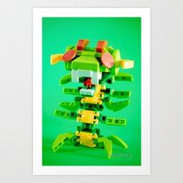 Centipede! Art Print