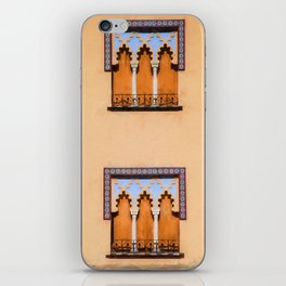 Dueling Windows of the Medieval Village of Cordoba Spain iPhone Skin