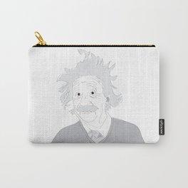 Albert Einstein Illustration Carry-All Pouch