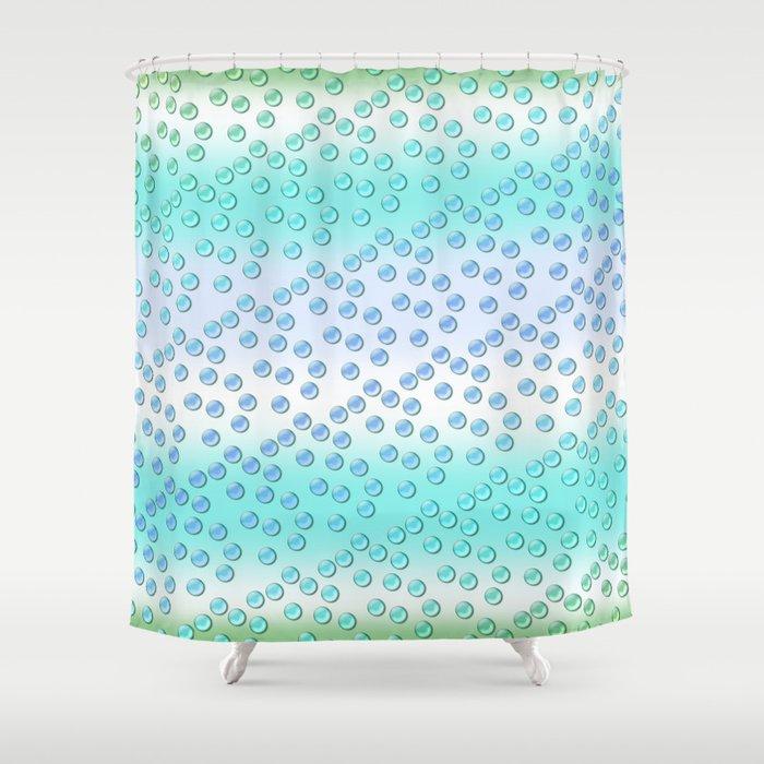 Pastel pattern 2 Shower Curtain